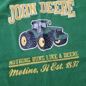 John Deere Shirts & Tops - John Deere Green Tractor 3T boys short sleeve